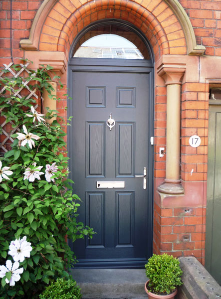 Examples of Entrance  Residential Doors